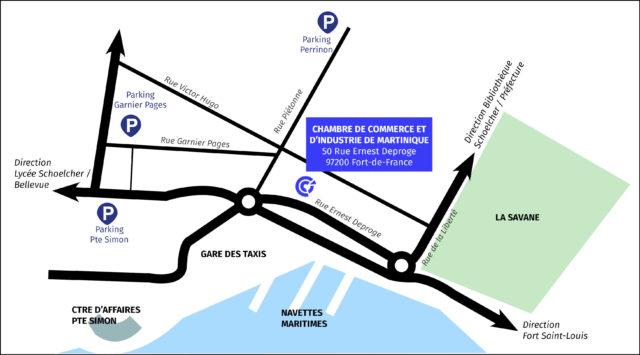 50, rue Ernest DEPROGE 97200 Fort-de-France